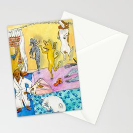Party Party In the Hotel Room Stationery Cards