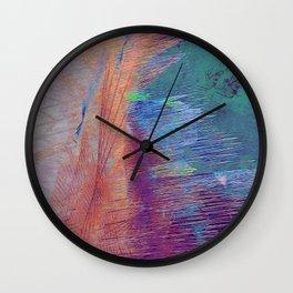 the current meets shore Wall Clock