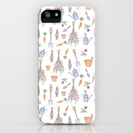 Gardener's Pattern iPhone Case