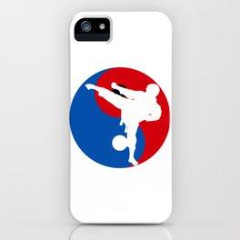 Korean Taekwondo iPhone Case