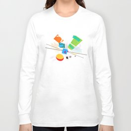 Rocko's Modern Art Long Sleeve T-shirt