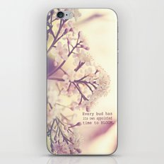 Appointed Bloom iPhone & iPod Skin