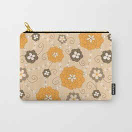 Sweet Daisy Gems- Golden Yellow Carry-All Pouch