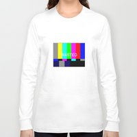 wasted rita Long Sleeve T-shirts featuring Wasted by Λdd1x7