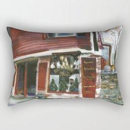 Boulangerie Obelix, afternoon sun, Spring 1999 Rectangular Pillow