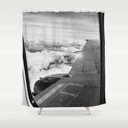 Plane Shower Curtain