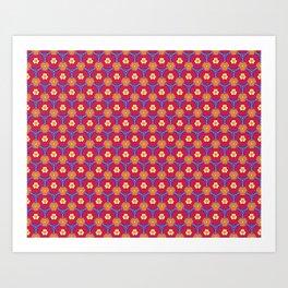 Red Tie Print Art Print
