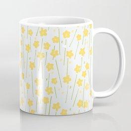 Buttercup Field M+M Evergreen by Friztin Coffee Mug