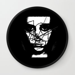 Girl Unwound - Going Through It All Wall Clock