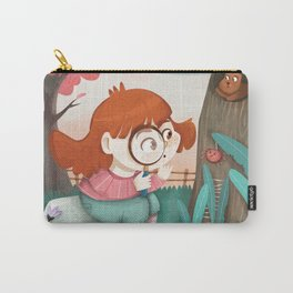 Giadina and the magnifying glass Carry-All Pouch