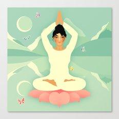 Sacred World: Yogini Canvas Print