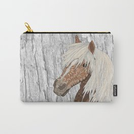 Haflinger Horse Carry-All Pouch