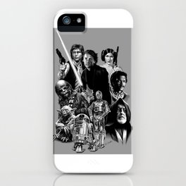 REBELS AGAINST THE EMPIRE iPhone Case