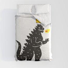 Jean-Michel Basquiat's Crown on Japanese Monster Comforters