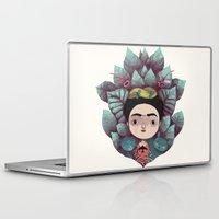 frida Laptop & iPad Skins featuring frida by yohan sacre