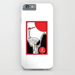 JANUARY CRANE iPhone Case