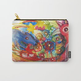 A conversation between the bird and the rat Carry-All Pouch