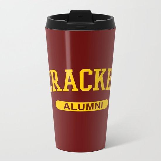 Cracked Alumni Metal Travel Mug