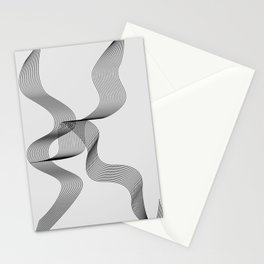 ''Dove Collection'' - Minimal Letter K Print Stationery Cards