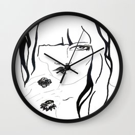 outline Wall Clock