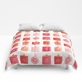 Flask Collection – Pink/Peach Ombré Palette Comforters
