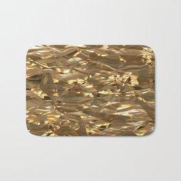 Golden Crinkle Bath Mat