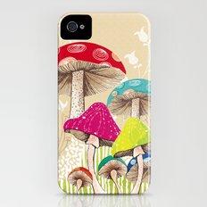 Magical Mushrooms Slim Case iPhone (4, 4s)
