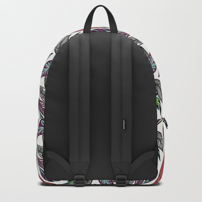 Colorful leaves pattern Backpack