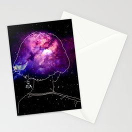 Lonely by cler Stationery Cards