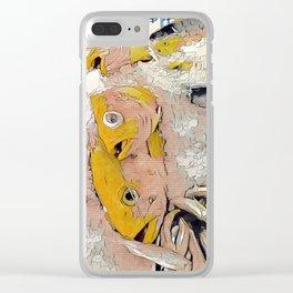 Fish Lichtenstein #1 Clear iPhone Case