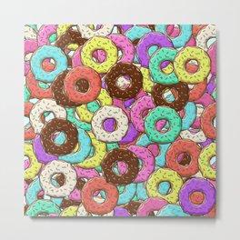 so many donuts Metal Print