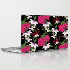 Cat in the flowers Laptop & iPad Skin