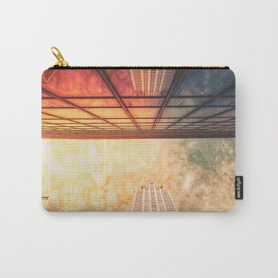 New York City Chrysler Building Up Up and Away Carry-All Pouch