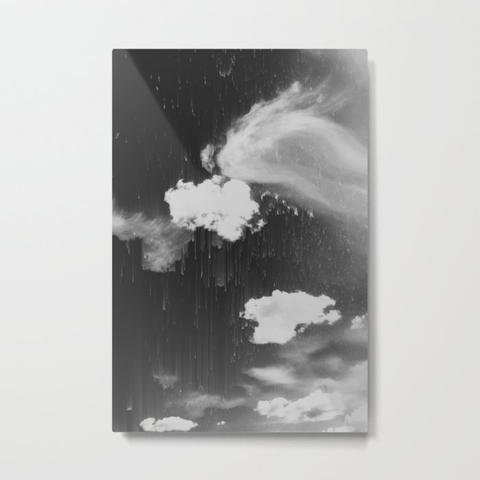 Cloudy Daze Metal Print