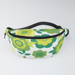 Eilin's Spring Flowers 8 Fanny Pack