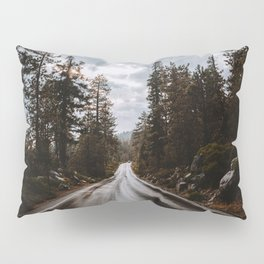 Rainy Day Adventures in the Forest Pillow Sham