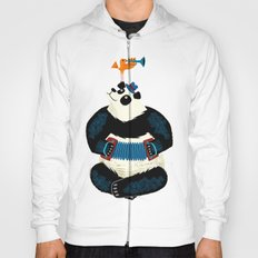 Panda Piazzolla and The Trumpet Bird Hoody