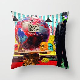 Summer Cannibals Throw Pillow