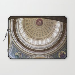 Wisconsin Capitol Building Rotunda 1 Laptop Sleeve