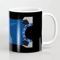 avenger Mugs featuring The nocturnal avenger by ashleyrosed