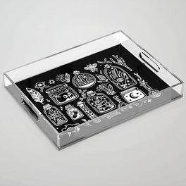 The Tiny Witch Gallery - Reverse Acrylic Tray