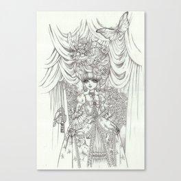 rococoprincess1 Canvas Print