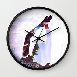 Summer Revisited Wall Clock