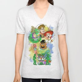 Disney Pixar Play Parade - Toy Story Unit Unisex V-Neck
