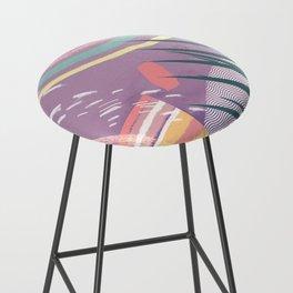Summer Pastels Bar Stool