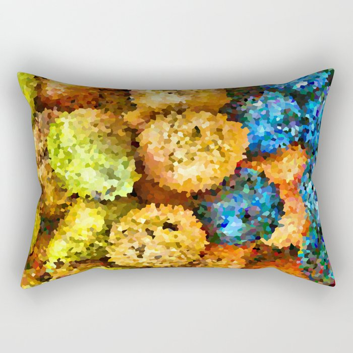 crystallized fruits Rectangular Pillow