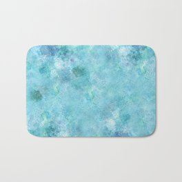 Blue Galaxy Bath Mat