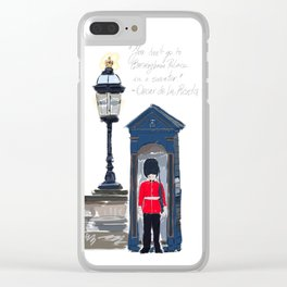 Londres Clear iPhone Case