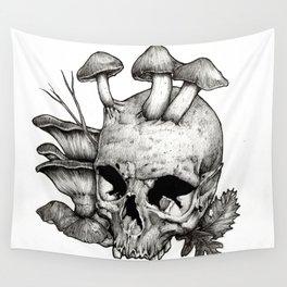 Mushrooms Wall Tapestry