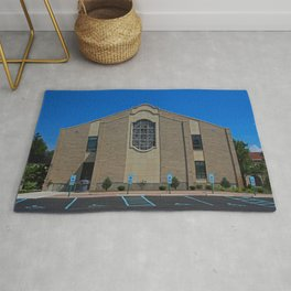 Lourdes University-  Franciscan Center in the Spring VII Rug